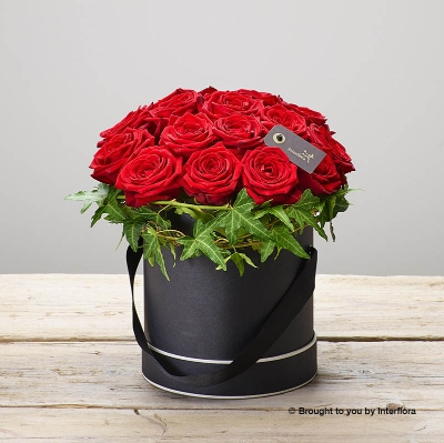 Crimson Rose Hatbox.