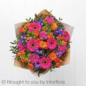 Happy Birthday Blooming Brights Handtied